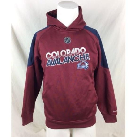 Reebok Other - Reebok NHL Colorado Avalanche Hoodie Sweatshirt